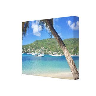 Toile Paradis des Caraïbes