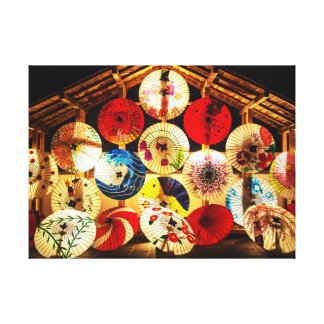 Toile Parapluie japonais