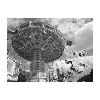 Toile Parc d'attractions de Paris