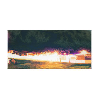 Toile parc de ville la nuit 6