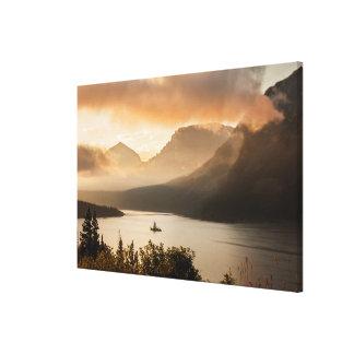 Toile Parc national de glacier du lac | st. Mary,