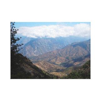 Toile Parc national des Rois Canyon