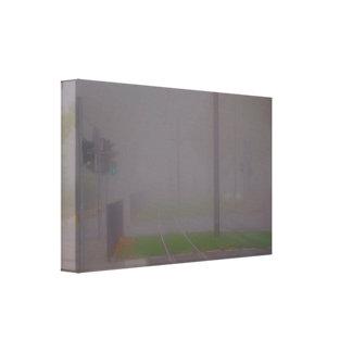 Toile Paroi de brouillard grise