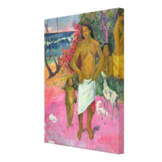Toile Paul Gauguin | une promenade par la mer, 1902