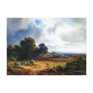 Toile Paysage chrétien d'Ernst Bernhard Morgenstern