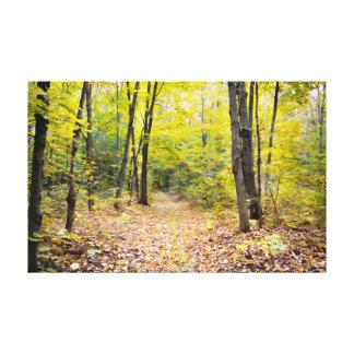 Toile Paysage d'automne