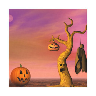 Toile Paysage de Halloween
