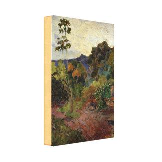 Toile Paysage de la Martinique par Paul Gauguin