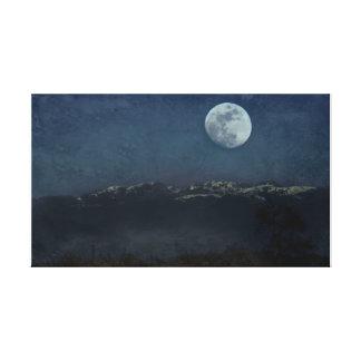 Toile Paysage de nuit