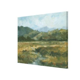 Toile Paysage III d'Impasto