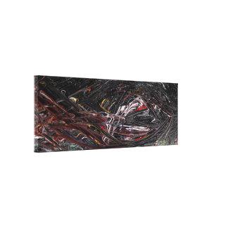 Toile Peinture abstraite d'élément