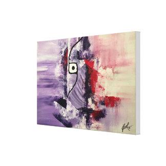 "Toile Peinture abstraite d'original ""augmentant esprit"""