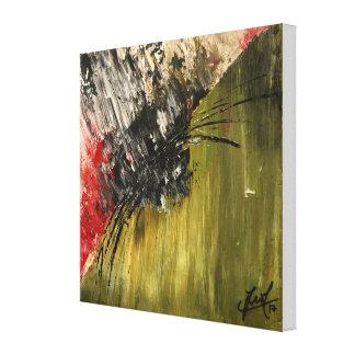 """Toile Peinture abstraite d'original de """"vengeance"""""""