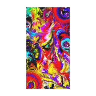 Toile Peinture d'art abstrait de Xtremis