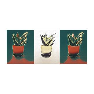 Toile Peinture de plante