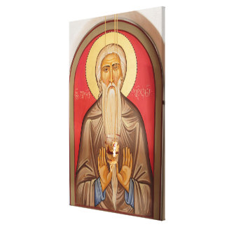 Toile Peinture d'un saint plus âgé