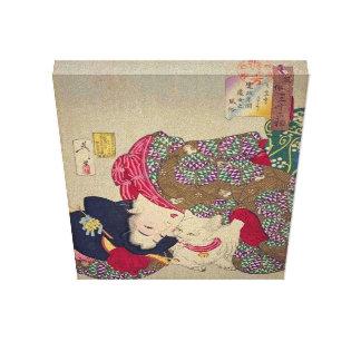 Toile Période de Kansei de Tsukioka Yoshitoshi