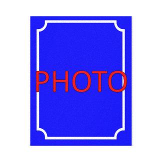 Toile Personnalisable avec la photo