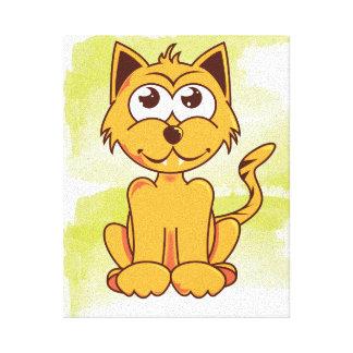 Toile Petit chaton