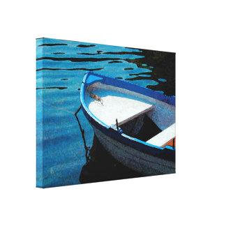 Toile Peu de bateau blanc