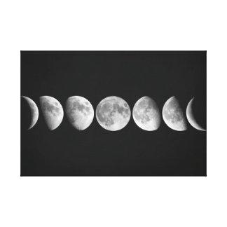 Toile Phases de lune