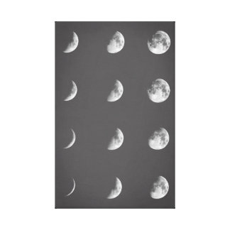 Toile Phases lunaires