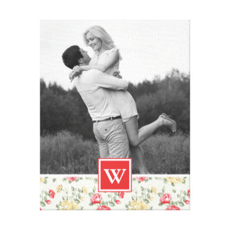 Toile Photo élégante du papier peint | de rose de rose
