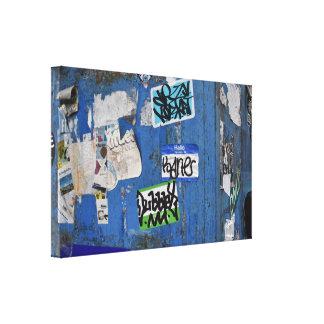 Toile Photographie urbaine d'art de rue de graffiti de