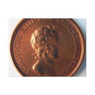 Toile Pièce Louis XIV face 60.96x45.72cm, 3.81cm, Simple