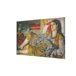 Toile Pierre Olympia de Renoir |