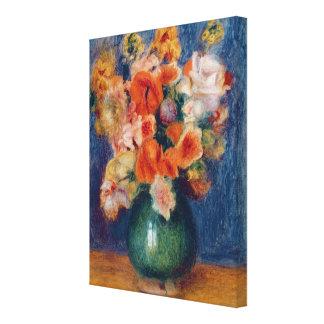 Toile Pierre un bouquet de Renoir |