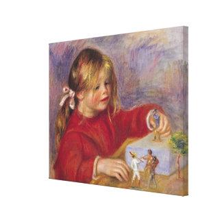 Toile Pierre un Renoir | Claude Renoir au jeu