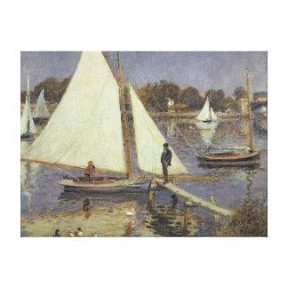 Toile Pierre un Renoir | la Seine à Argenteuil