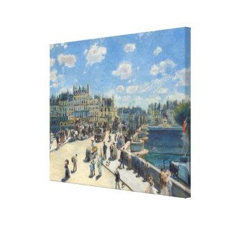 Toile Pierre un Renoir | Pont Neuf, Paris