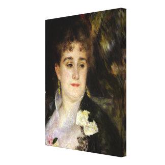 Toile Pierre une Madame Georges Charpentier de Renoir |