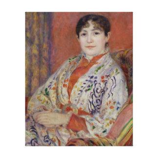 Toile Pierre une Madame Heriot de Renoir |