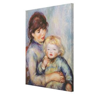 Toile Pierre une maternité de Renoir |, enfant avec un