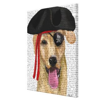 Toile Pirate jaune 2 de Labrador