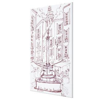Toile Placez DES Augustine | Aix-en-Provence, France