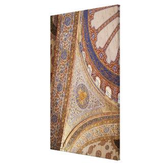 Toile Plafond bleu de mosquée