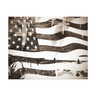Toile Plage de la Normandie de jour de vétérans