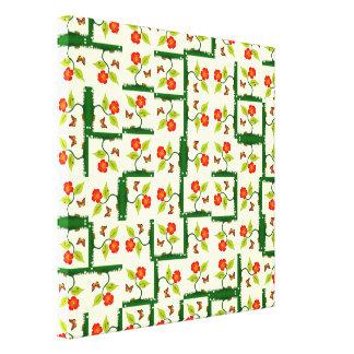 Toile Plantes et fleurs