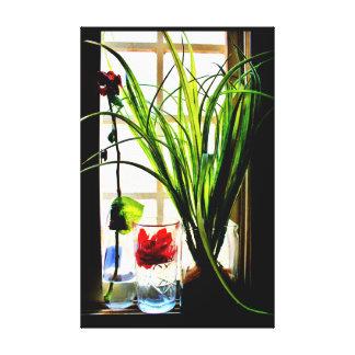 Toile Plantes paisibles