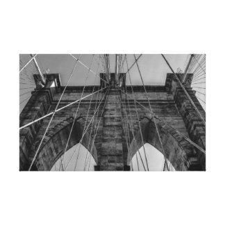 Toile Pont de Brooklyn à New York City
