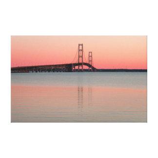 Toile Pont de Mackinac, Michigan