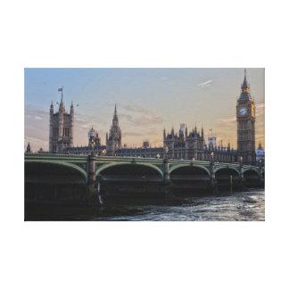 Toile Pont de tour, Londres