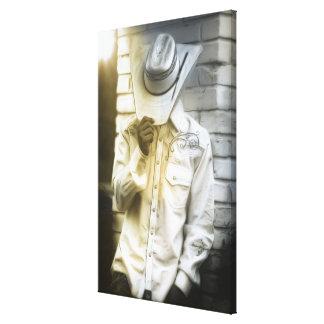 Toile Portrait de cowboy