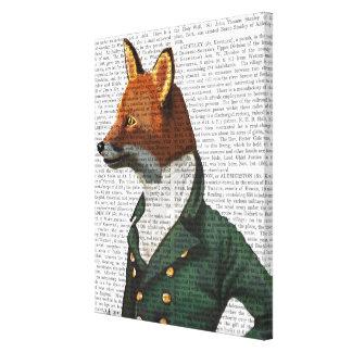 Toile Portrait de Fox