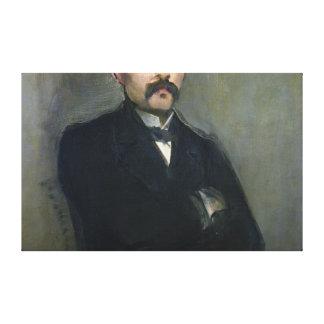 Toile Portrait de Manet | de Georges Clemenceau, 1879