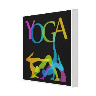 Toile Poses de yoga